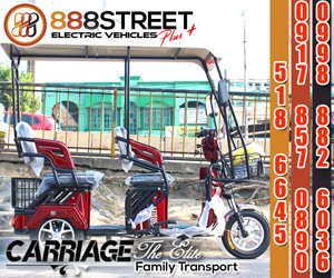 888STREET ELECTRIC VEHICLES